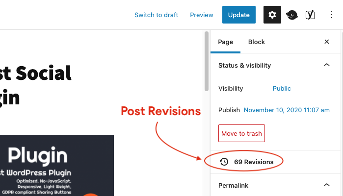 WordPress Revisions - Crunchify Tips - Fine-tune settings