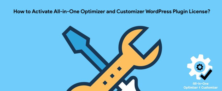 How to Activate All-in-One Optimizer and Customizer WordPress Plugin License?