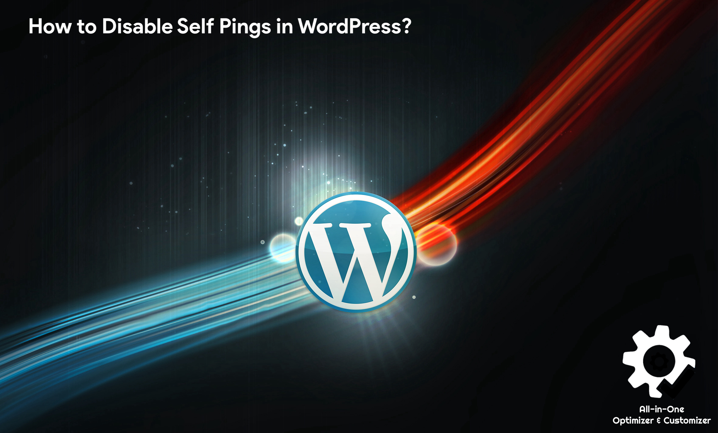 How to Disable Self Pings in WordPress?
