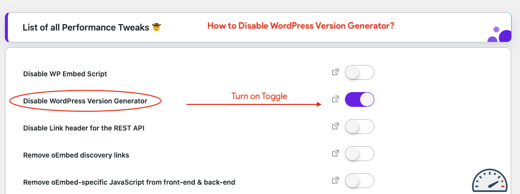 How to Disable WordPress Version Generator all-in-one Optimizer and Customizer