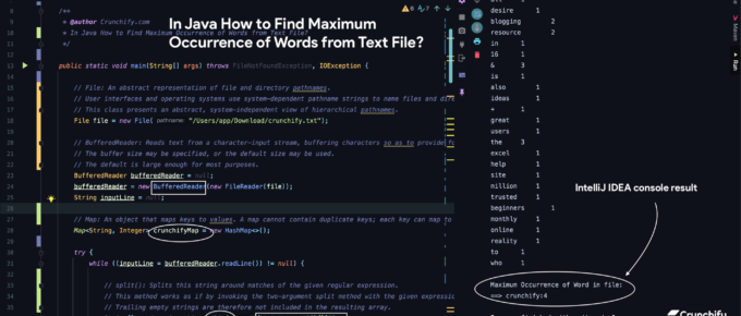 In Java How to Find Maximum Occurrence of Words from Text File?